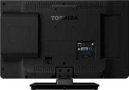 Toshiba 24D1433 / 24D1434 Vue arrière