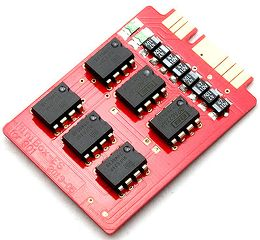 HiFiMAN Minibox Amplifier Card Vue 3/4 droite