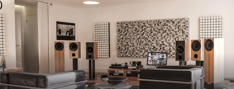 Panneaux acoustiques diffuseurs