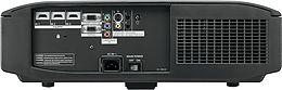 Panasonic PT-AT6000 Vue arrière