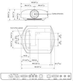 Sony VPL-VW1000 Vue de détail 1