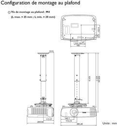 Benq W2000W Vue technologie 3