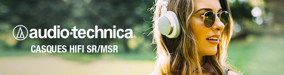 Casque hifi audio-technica