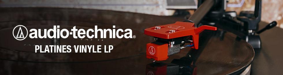 Platines vinyle Audio-Technica