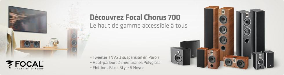Enceintes Focal Chorus 700
