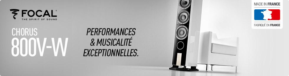 Focal Chorus 800V-W : performances et musicalité exceptionnelles