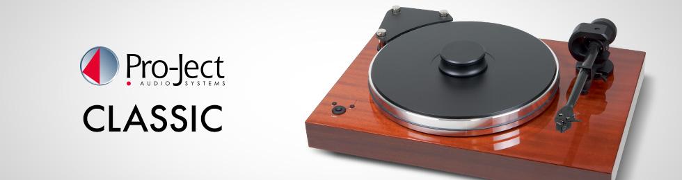 Platines vinyle Pro-Ject Classic