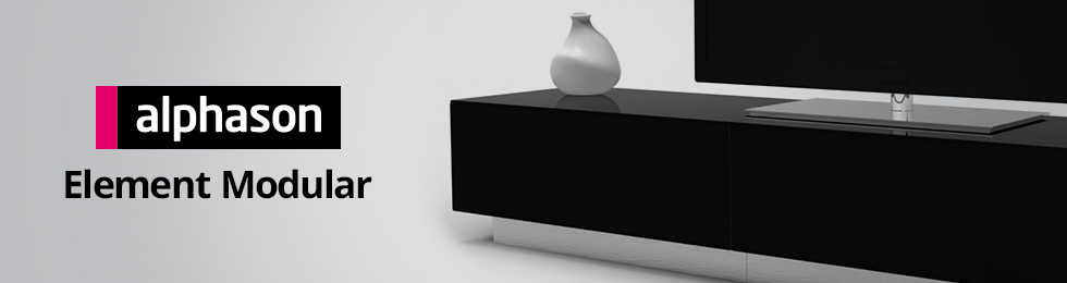 Meubles tv vid o alphason element son vid for Element meuble tv