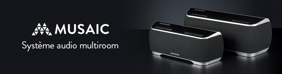 Système audio multiroom Musaïc