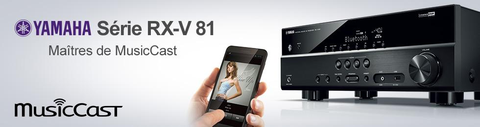 Gamme Yamaha RX-Vx81 : amplis home-cinéma