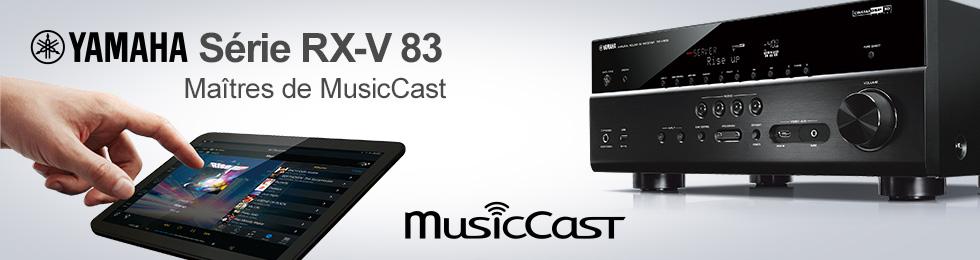 Gamme Yamaha RX-Vx83 : amplis home-cinéma