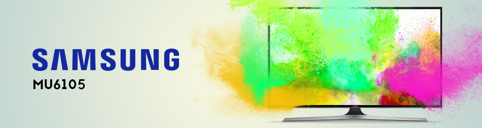 Téléviseurs Samsung MU6105