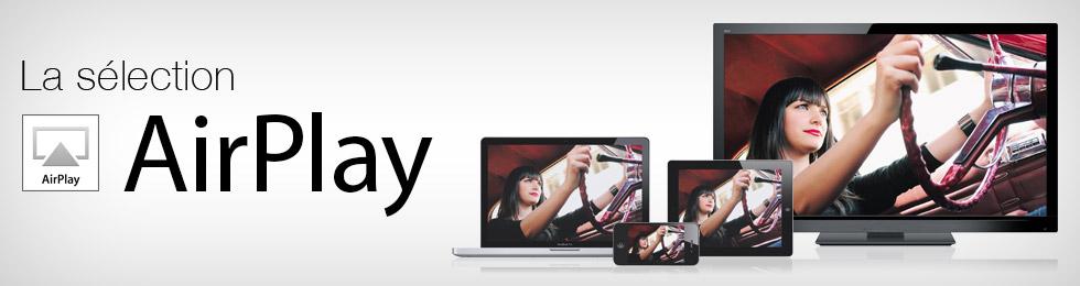 La boutique AirPlay: tous les produits compatibles avec la fonction de streaming développée par Apple