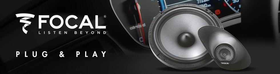 Haut-parleurs et subwoofers voiture Focal Plug & Play