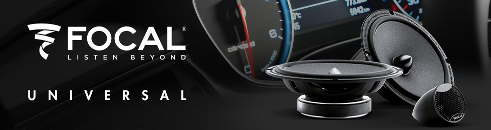 Enceintes Car Audio Focal Universal