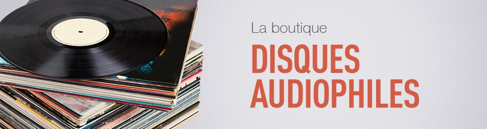 Sélection de disques audiophiles CD vinyles