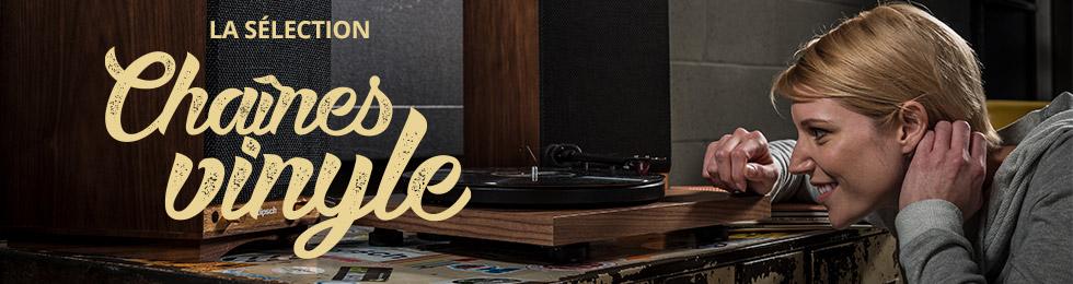Chaînes hi-fi vinyle