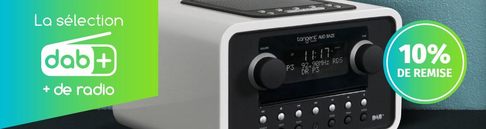 Toutes les radios compatibles DAB+