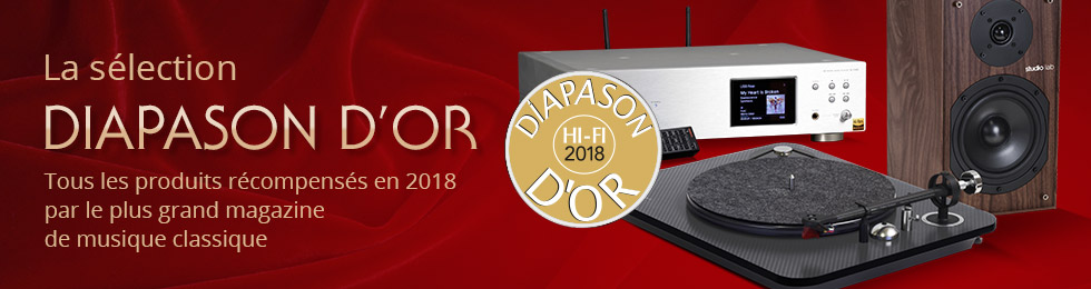 Sélection Diapason d'or 2018