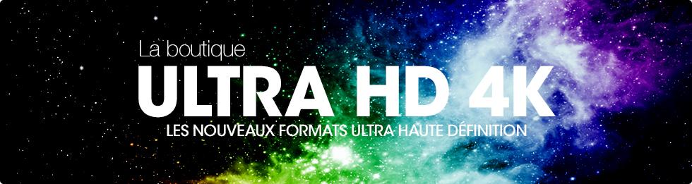 En-tete Ultra Haute Définition UHD-4K