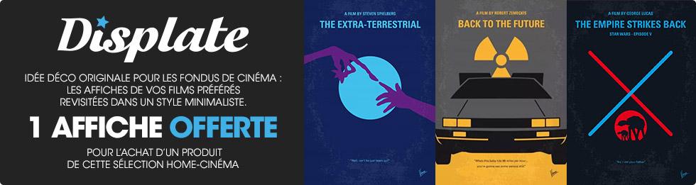 Offre spéciale affiche home-cinéma offerte