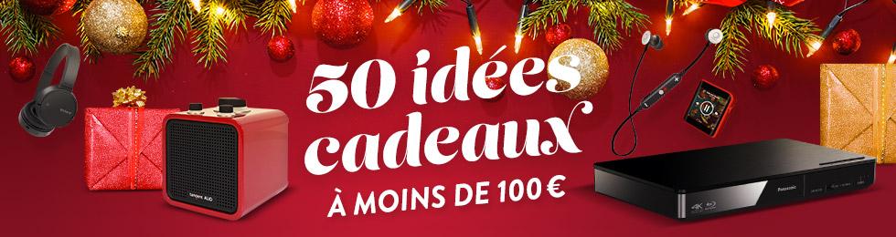 Plus de 50 idées cadeaux à moins de 100 euros