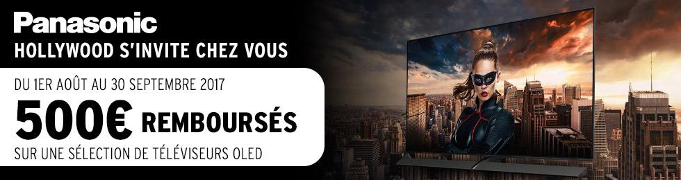 Offre TV OLED Panasonic : 500 € remboursés