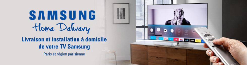 Samsung Home Delivery - Livraison et installation gratuites à domicile