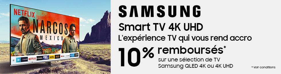Samsung Smart TV 4K UHD : l'experience TV qui vous rend accro