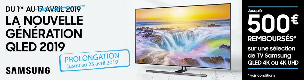 Offre de remboursement Samsung 2019