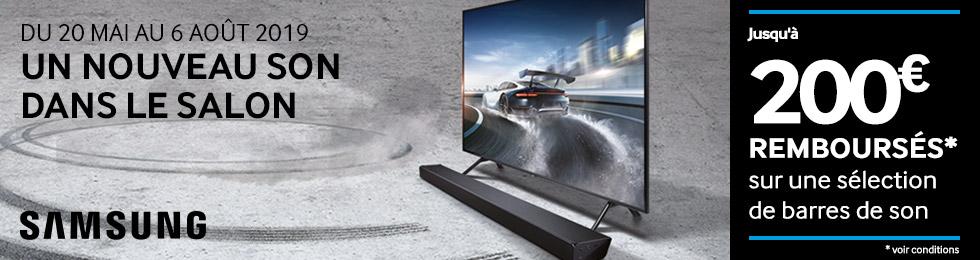 Samsung : un nouveau son dans le salon