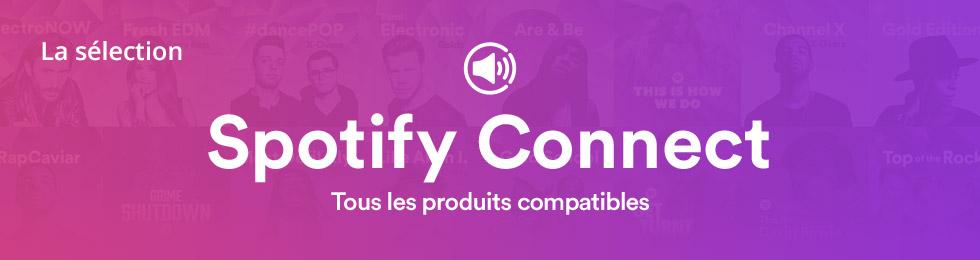 Spotify : tous les produits compatibles