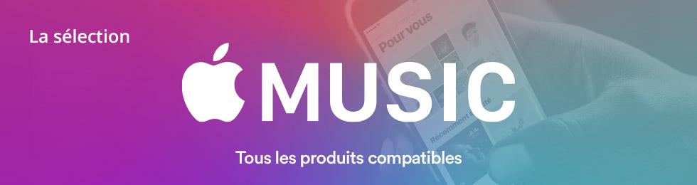 Apple Music : tous les produits compatibles