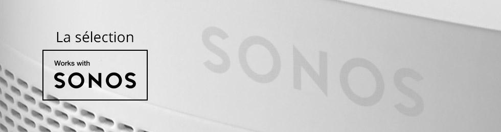 sélection works with sonos tous les produits compatibles sonos