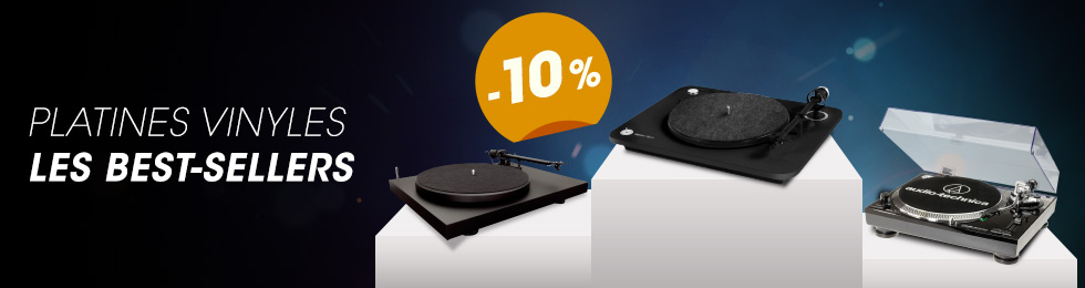 Platines vinyle : promotion sur les Best-sellers