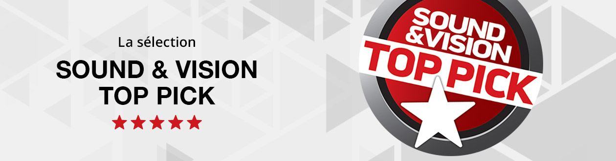 Sound and Vision top pick selection