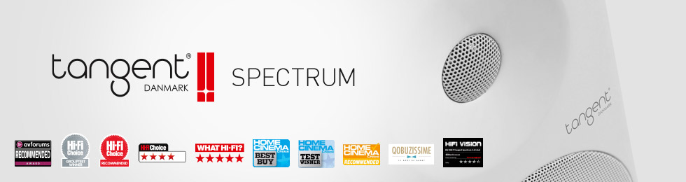 Enceintes Tangent Spectrum