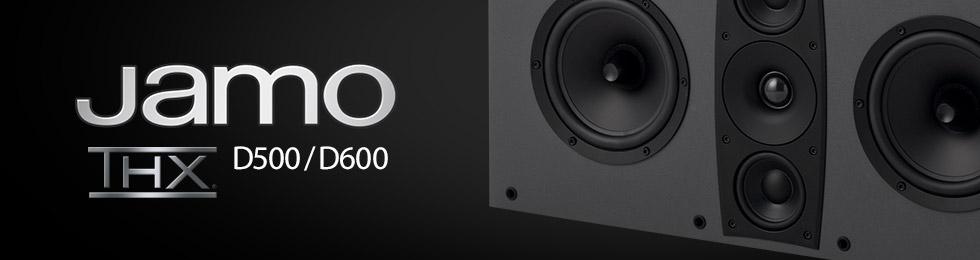 Enceintes THX Jamo D500/D600