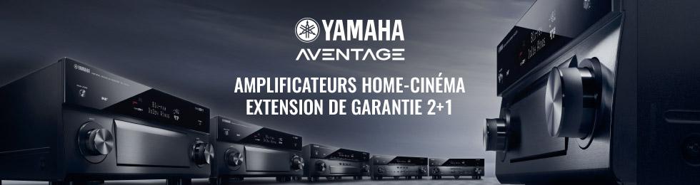 Yamaha Aventage : extension de garantie 2+1