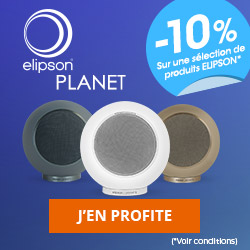 10% de remise sur une sélection de produits Elipson