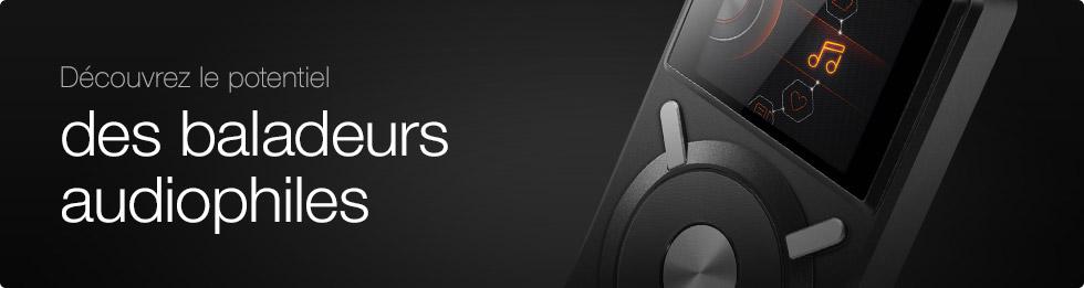 D�couvrez le potentiel des baladeurs audiophiles