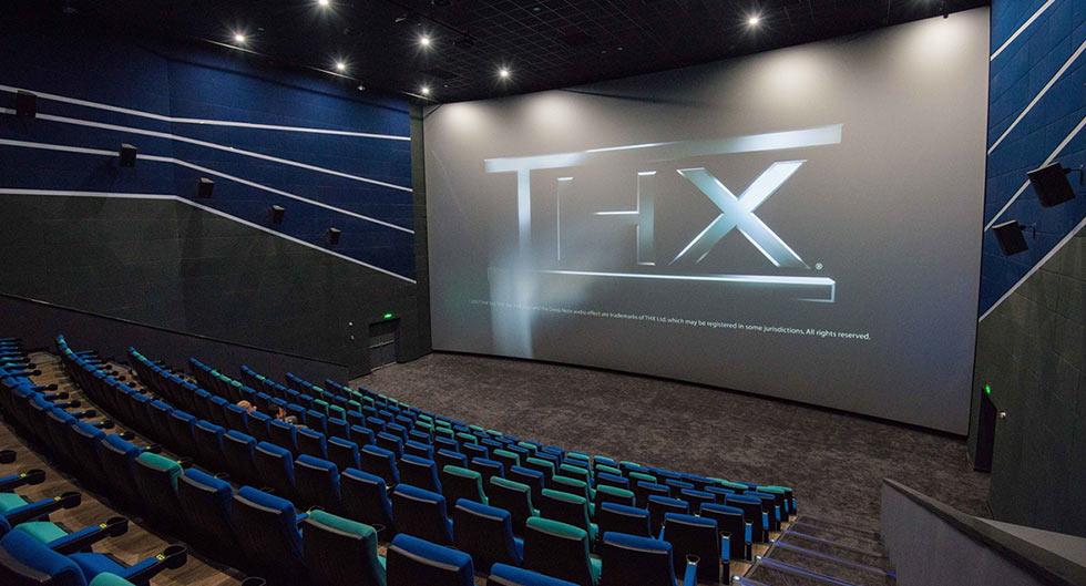 Salle de cinéma certifiée THX
