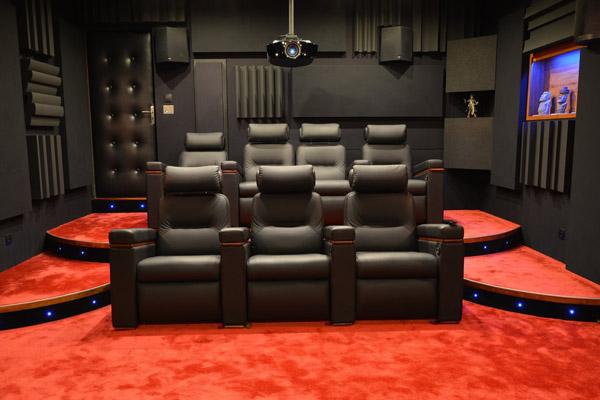 Comment r aliser une salle de cin ma home cin ma chez soi - Salle cinema maison ...