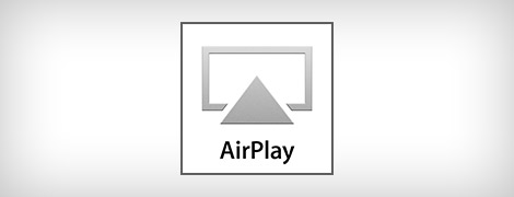 La sélection AirPlay