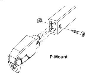 Montage P-Mount