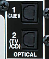 Connecteur audio numérique optique