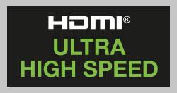 Câble HDMI Ultra High Speed.