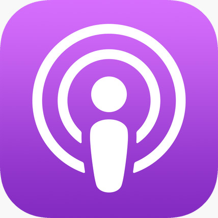 Icône de l'application Apple Podcast