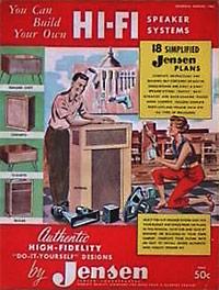 Publicité vintage pour la Hi-Fi