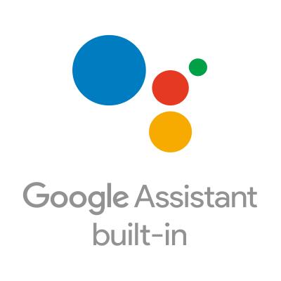 Le logo Google Assistant.